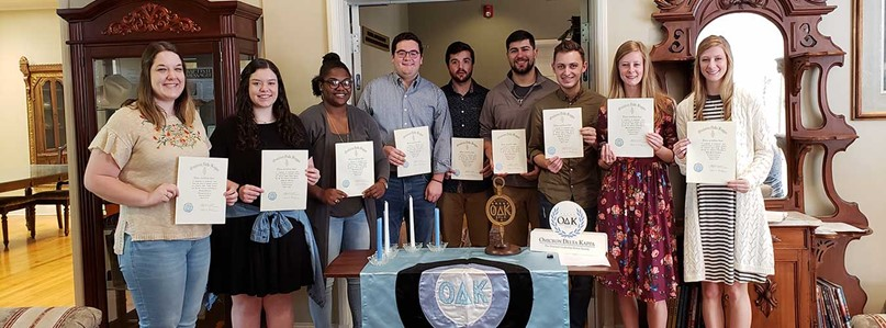 LC Omicron Delta Kappa inducts 10 members